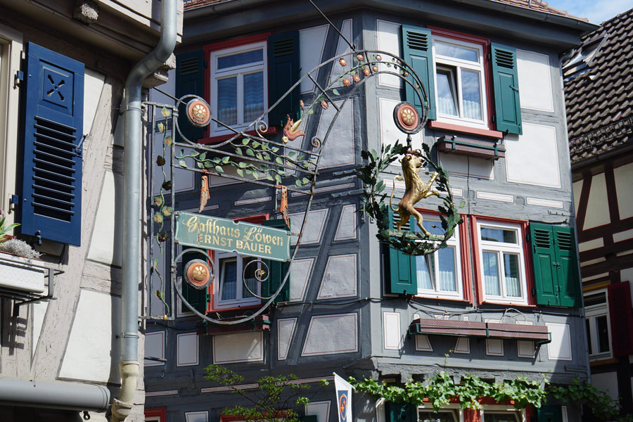 Besigheim, altes Weindorf