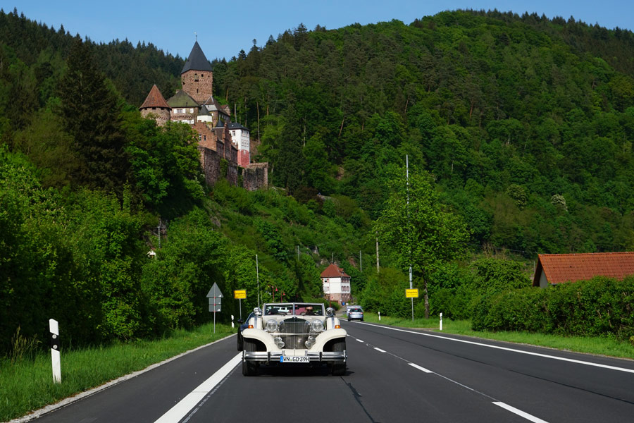 Neckartal und Vierburgeneck